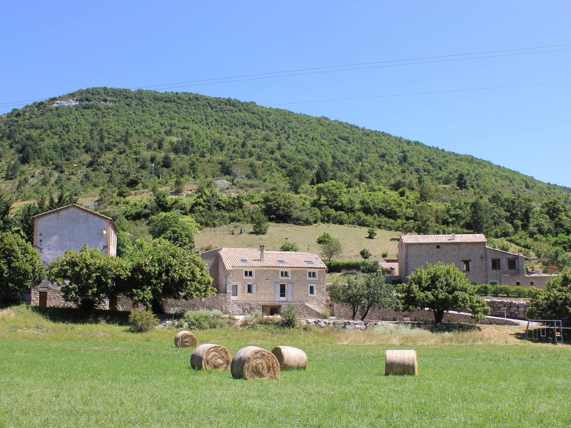 Gîte Léoux en Drôme Provençale